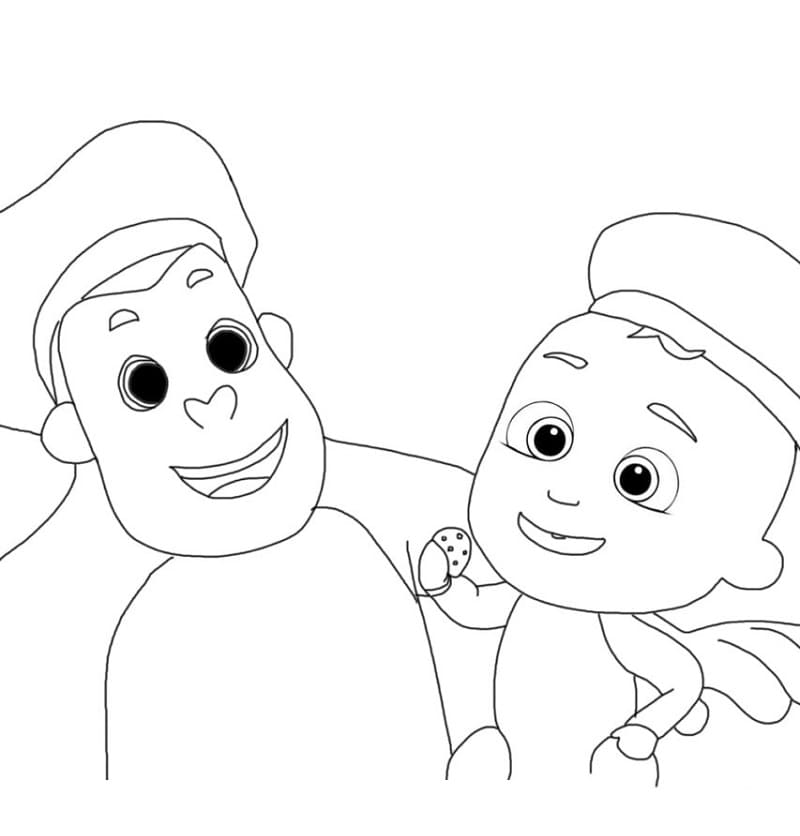 Little Johnny and Monkey Cocomelon