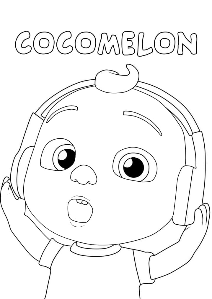 Little Johnny with Headphones