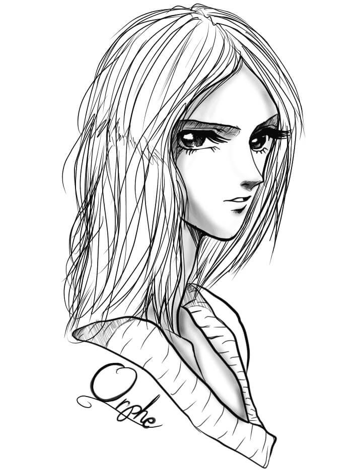 Orphe Anime Girl