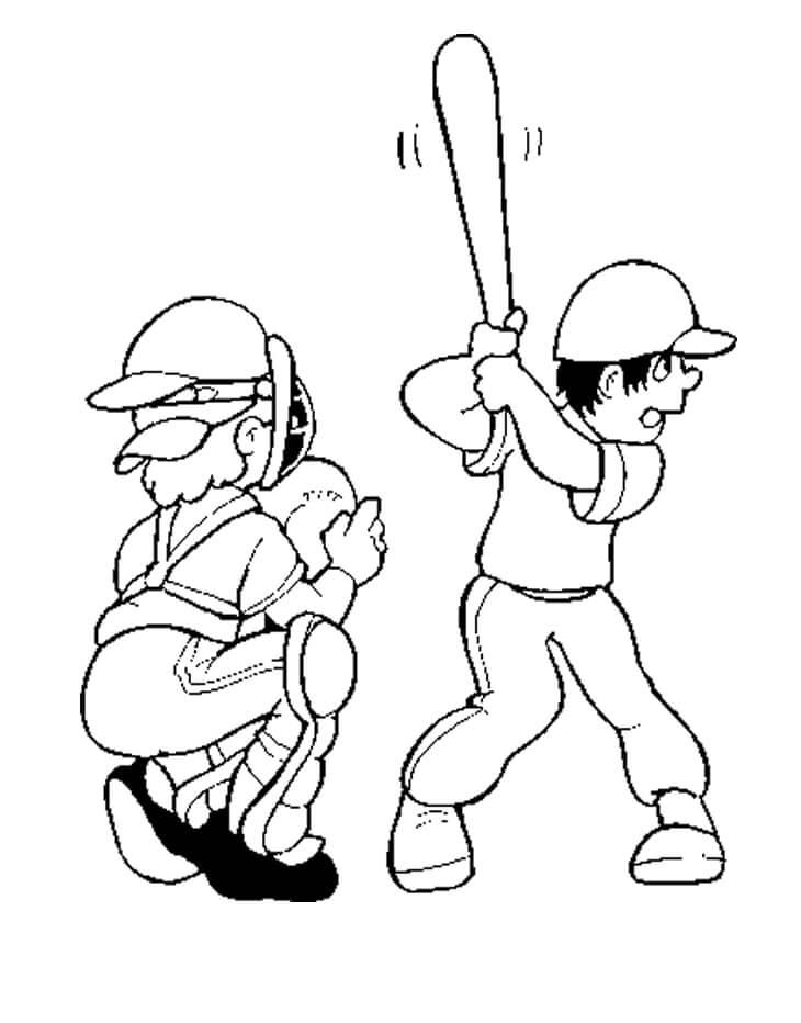 Playing Baseball 3