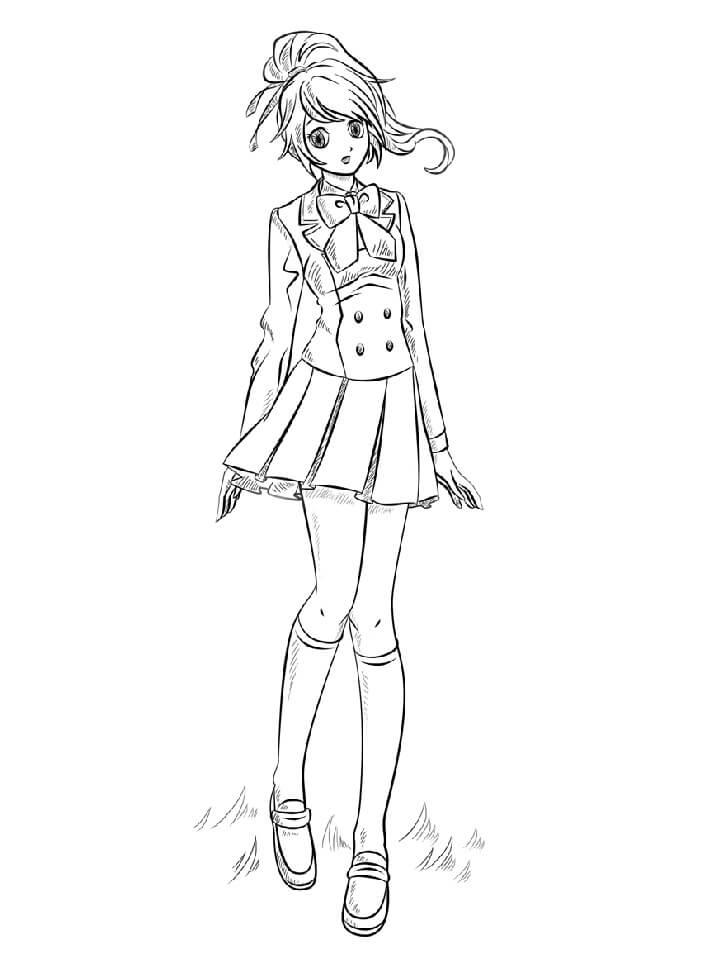 Pretty Anime Girl