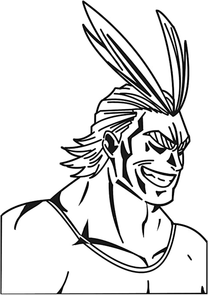 Printable All Might