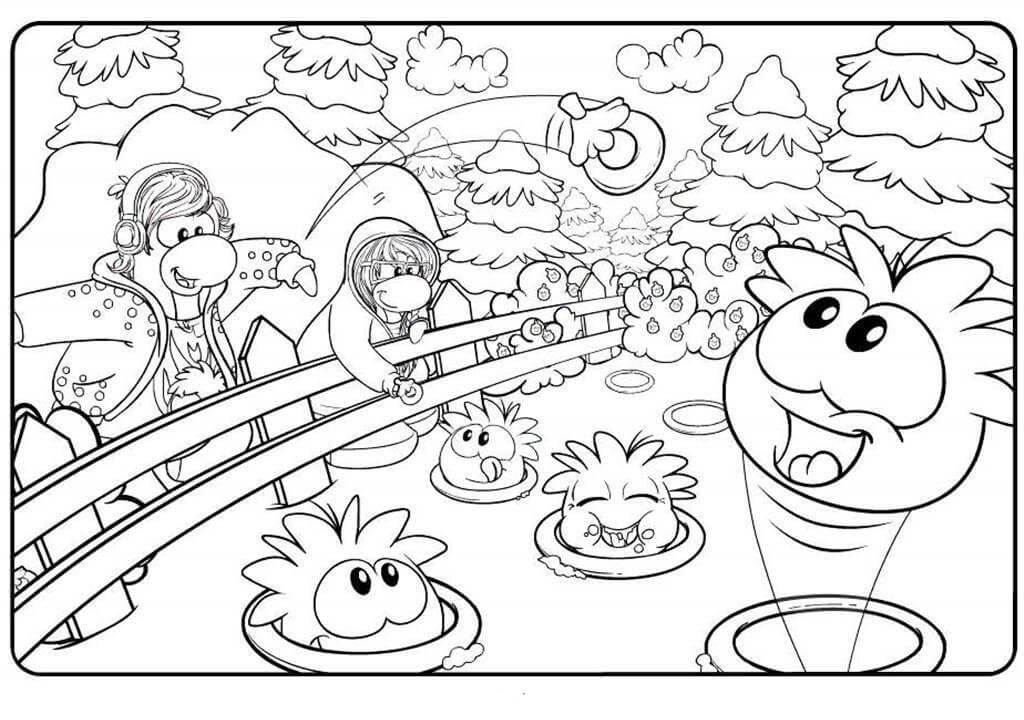 Puffle in a Zoo