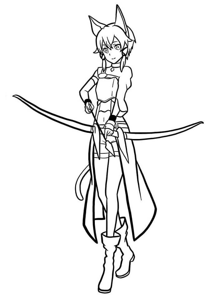 Sinon from Sword Art Online
