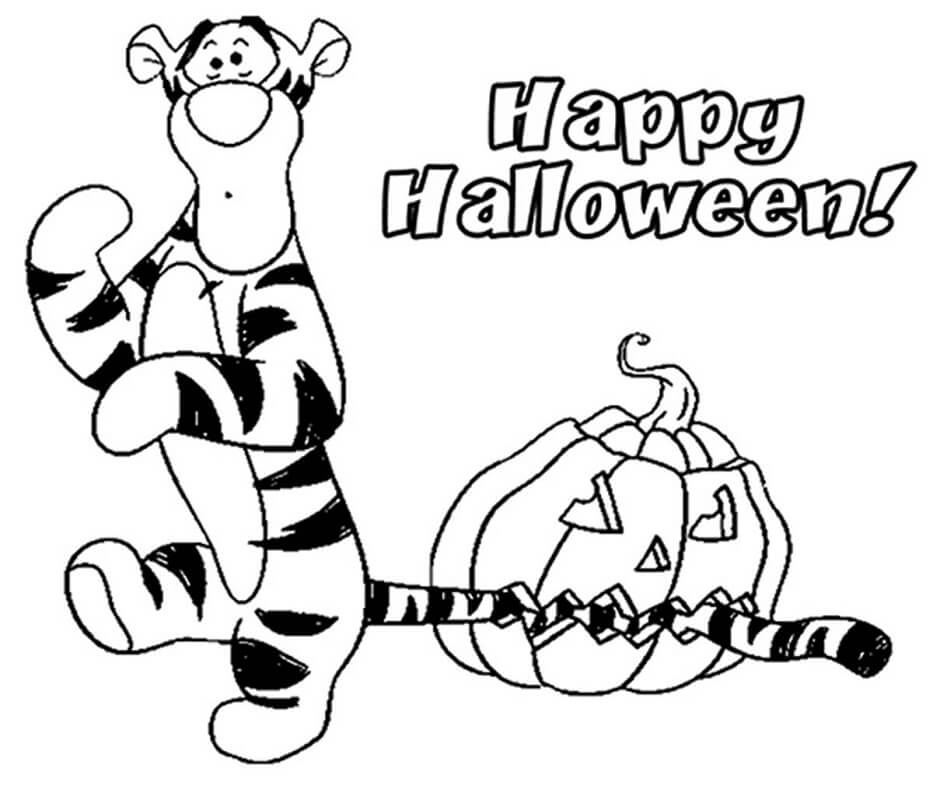 Tigger and Halloween