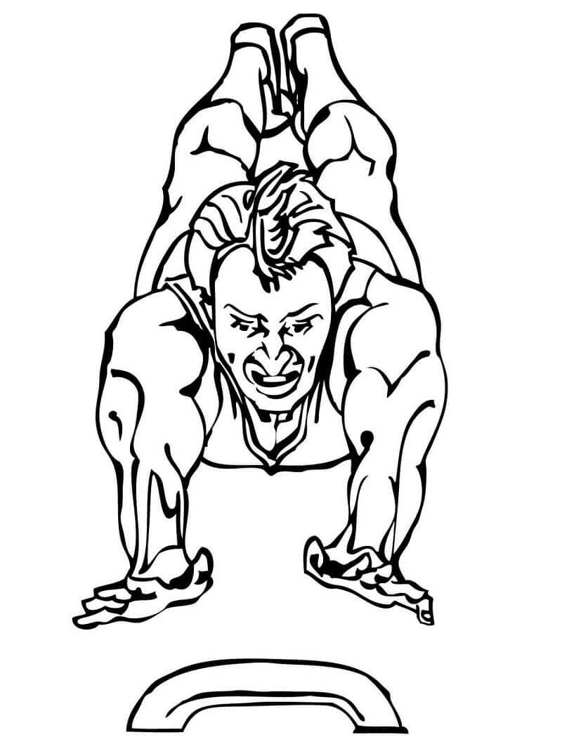 Vault Artistic Gymnastics