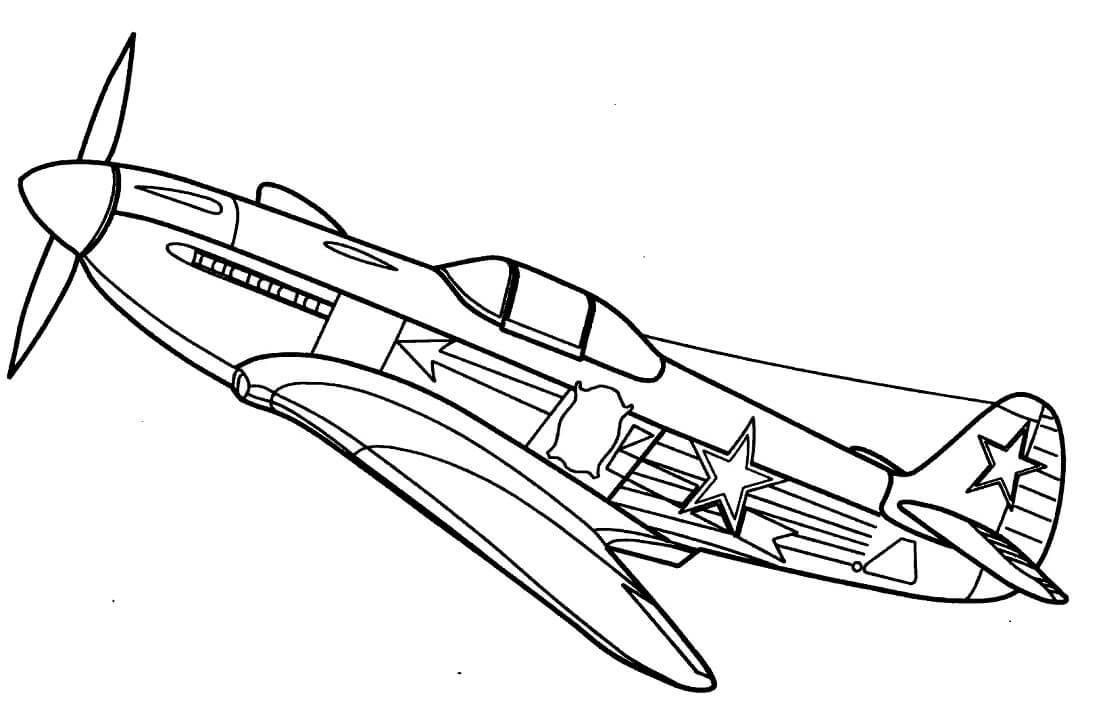 Yakovlev Yak-3 Fighter Jet
